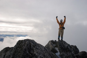 Successful people will usually be working instead of mountain climbing. Photo: _T604